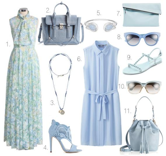 Pale Blue Spring 2015