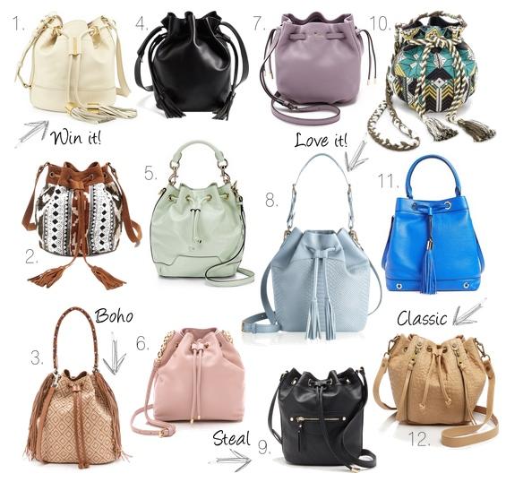 Spring Bucket Bag