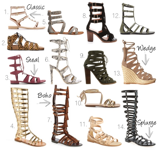 b14cd7e9a22f Gladiator Sandals 1. Rebecca Minkoff Georgina Studded Sandals 2. Loeffler  Randall Pascal Gladiator 3. Forever 21 Faux Suede ...