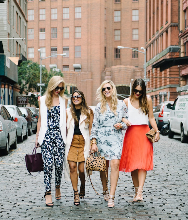Bloggers at NYFW