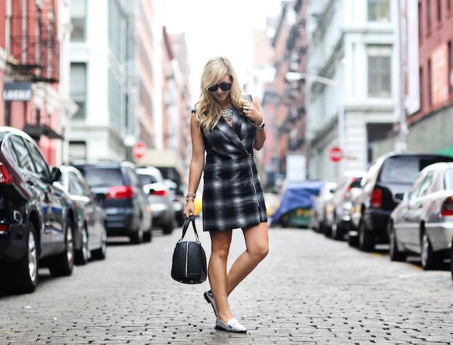 NYFW vest dress
