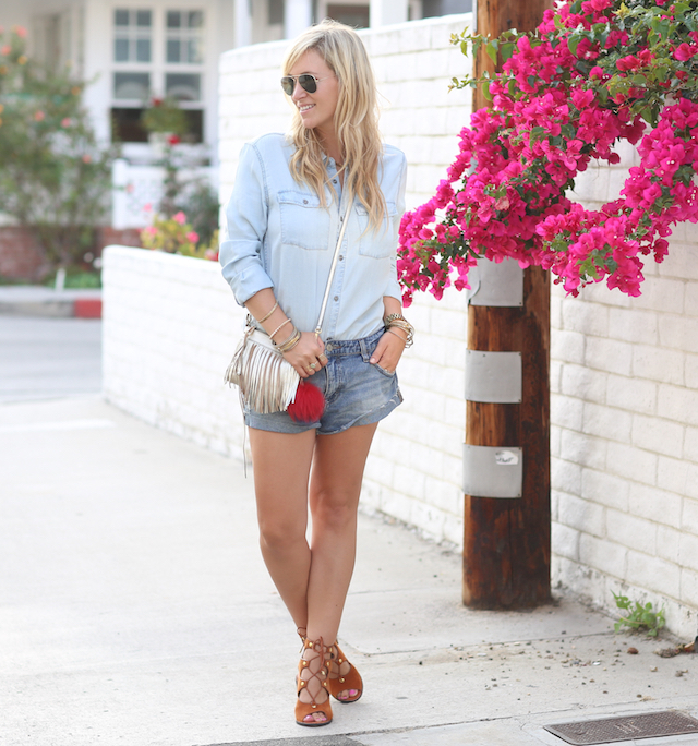 denim chambray shirt