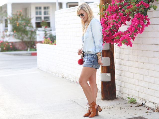 denim cutoffs for fall
