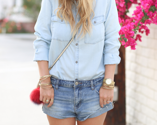 denim on denim details