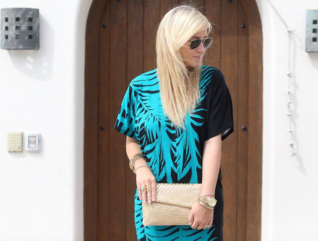 palm print clutch