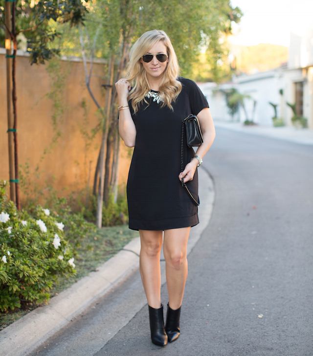 target little black dress