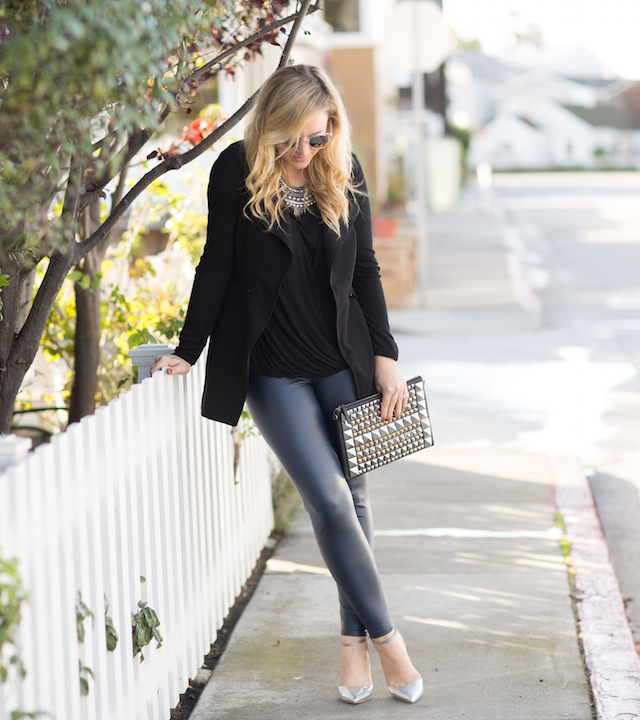 easy leather leggings