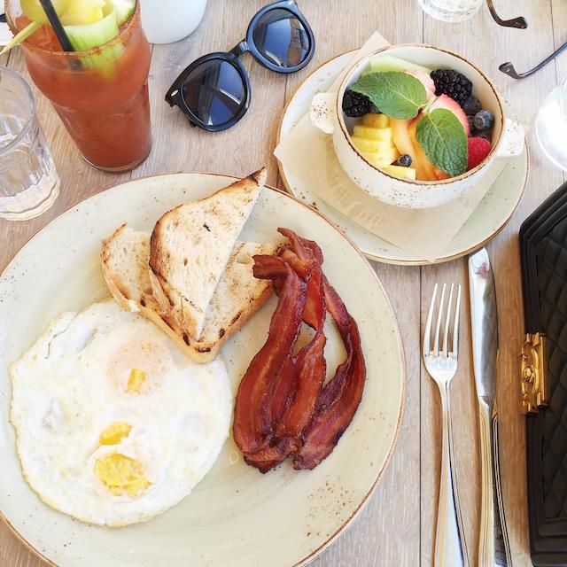 Breakfast at Driftwood Kitchen