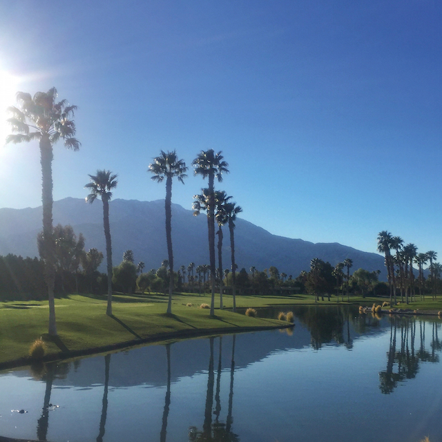 doubletree palm springs golf course