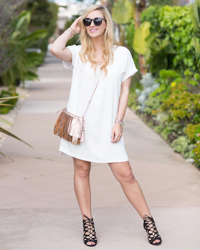 easy white dress
