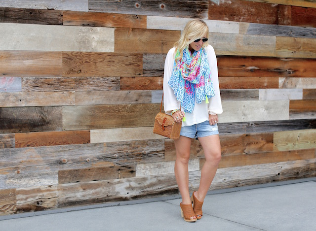lilly pulitzer scarf - 1