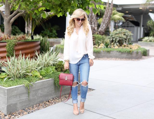 wayf blouse