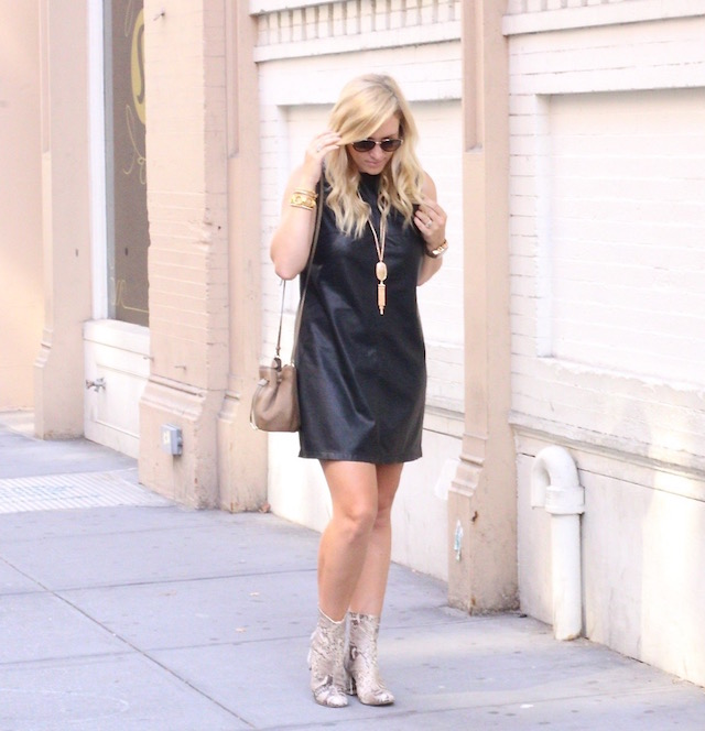 leather dress - 1 (1)