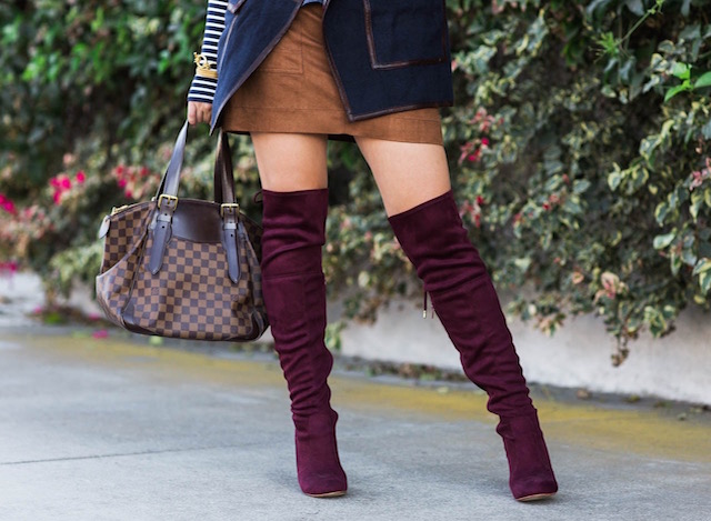 burgundy boots - 1 (7)
