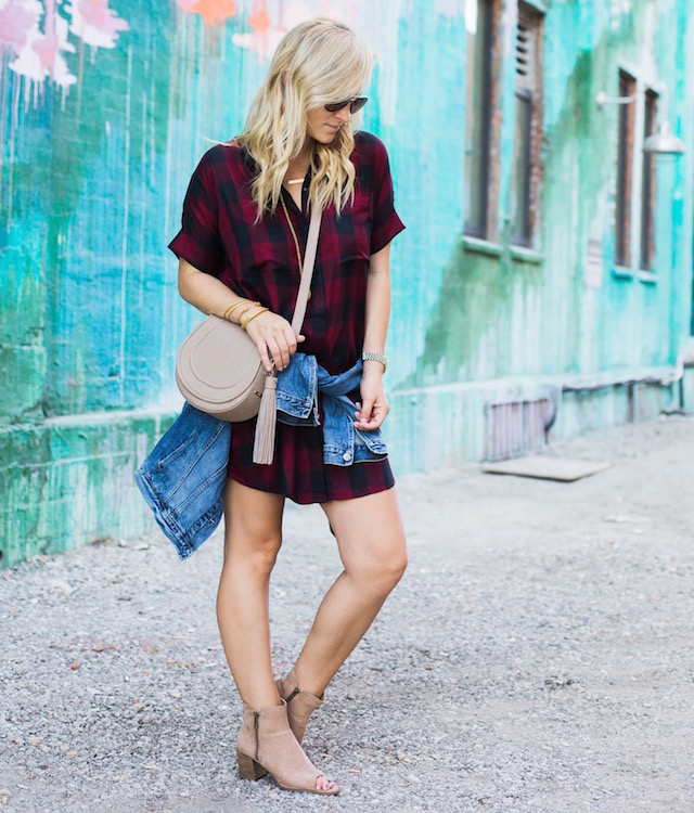 Best Plaid Shirtdress