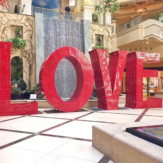 Venetian Love Installation