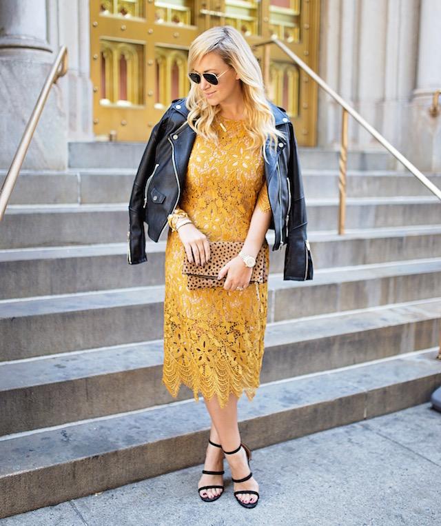wayf lace dress - 1