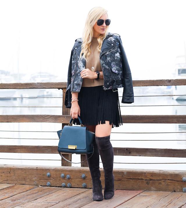 fringe skirt - 1