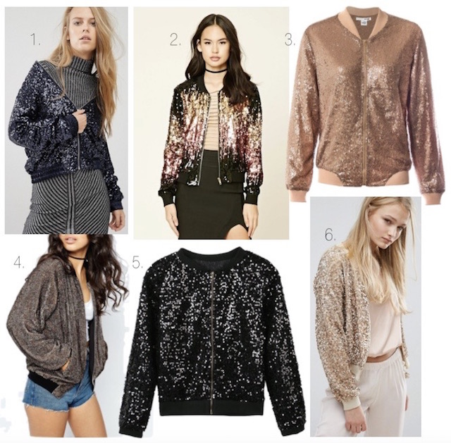 sequin bomber jackets - 1