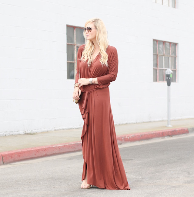 New Year's Eve maxi dress