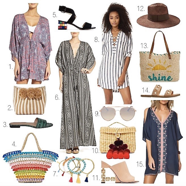 Orange County fashion blogger Nikki Prendergast of My Style Diaries rounds up a few favorite resort style picks.