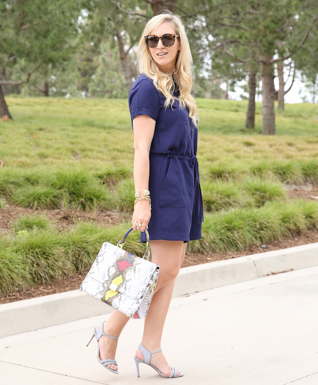 The best romper for the tall gals from Banana Republic