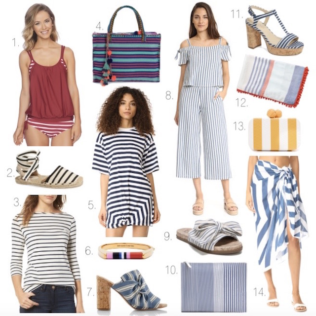 Best striped pieces for summer 2017