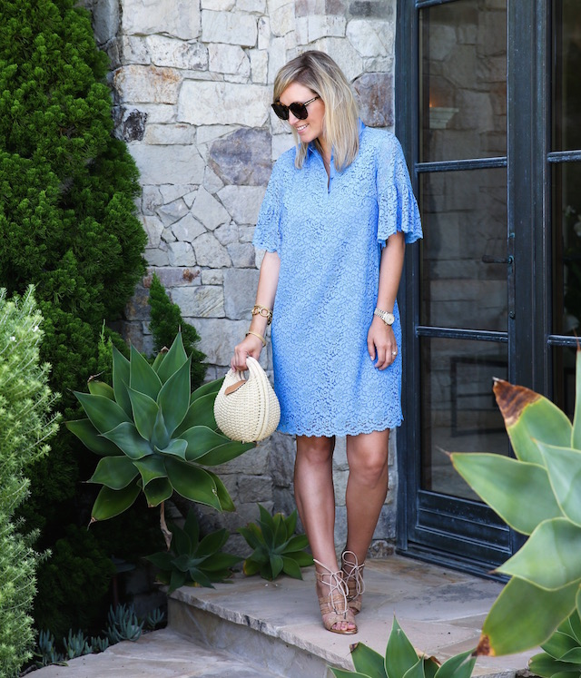 The perfect lace dress for wedding season