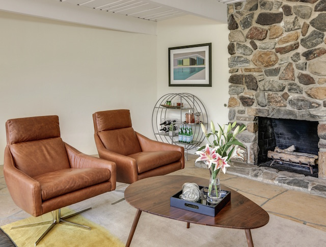 Palm Springs Mid-Century Modern Living Room