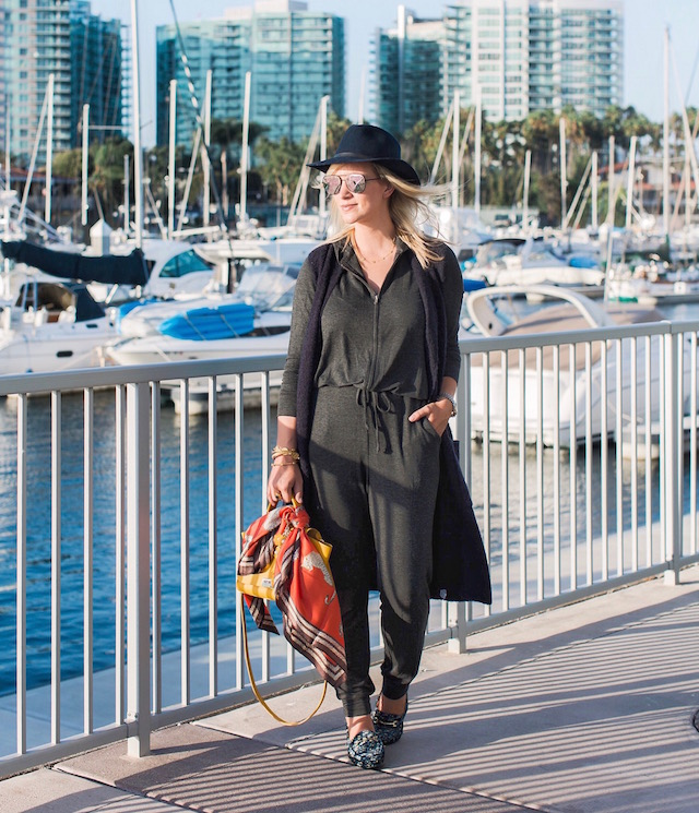 Fashion blogger Nikki Prendergast of My Style Diaries styles cabi's Penny Lane Lovely playsuit.