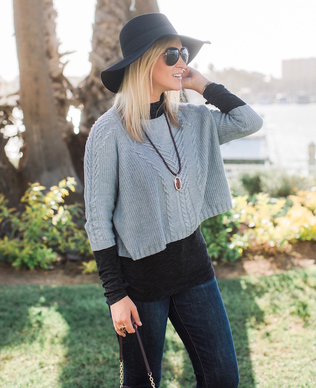 Fashion blogger Nikki Prendergast of My Style Diaries styles cabi's Penny Lane Lovely sweater.