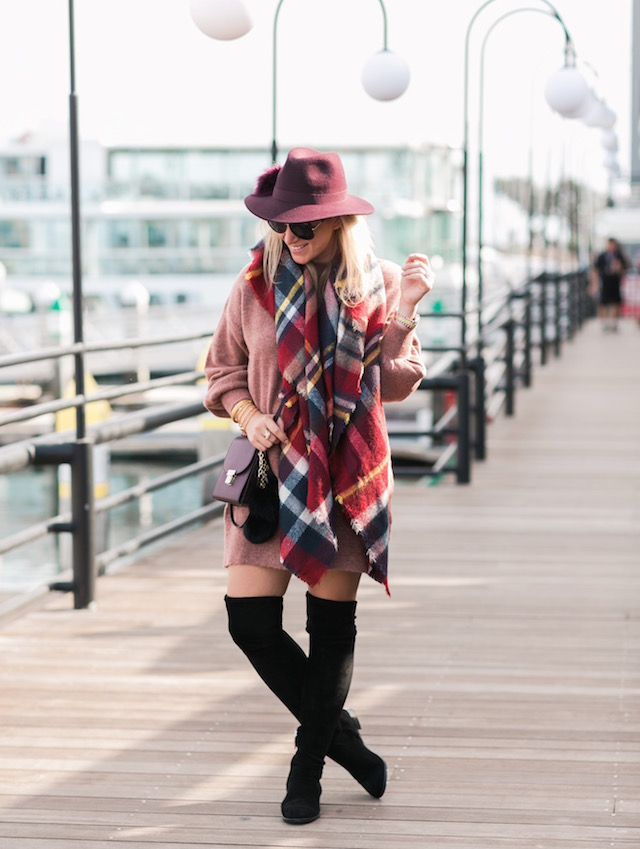 The best place to find fall's plaid blanket scarves for under $15