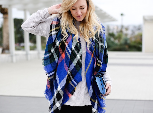 best plaid blanket scarf under $20