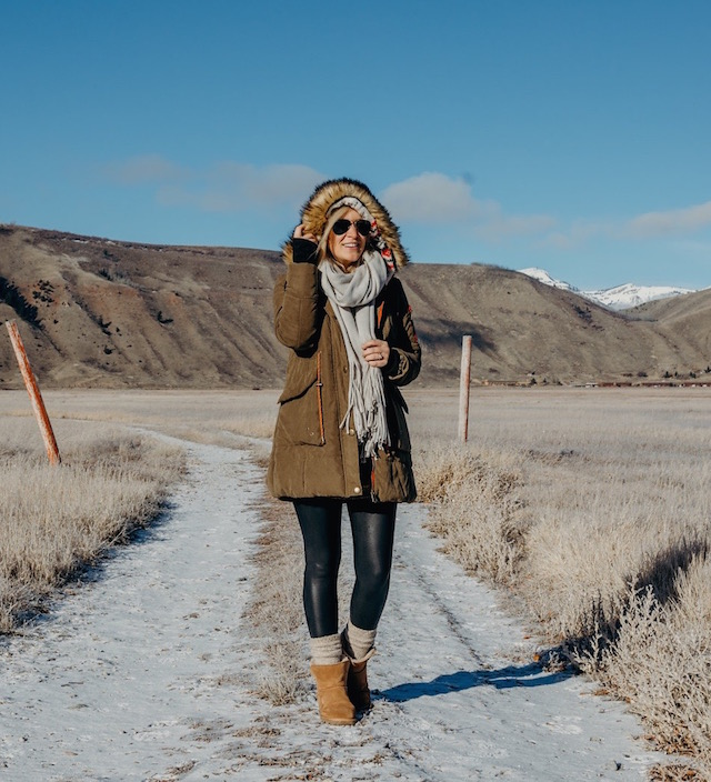 National Elk Refuge in Jackson Hole, Wyoming
