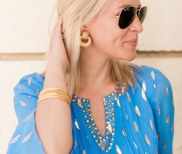 Julie Vos clip-on earring | Nikki Prendergast of My Style Diaries