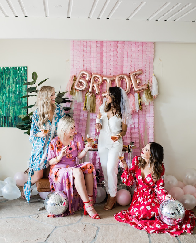 Palm Springs bachelorette party