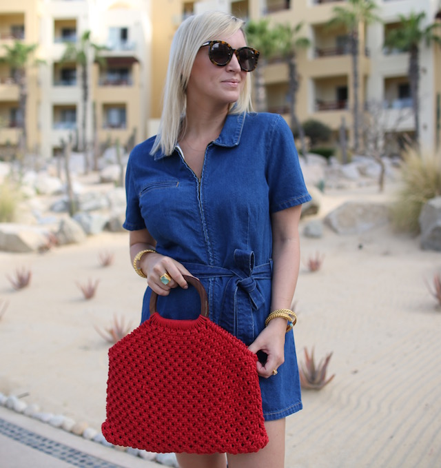 3176b7f2b99 The Denim Romper Your Wardrobe Needs - My Style Diaries