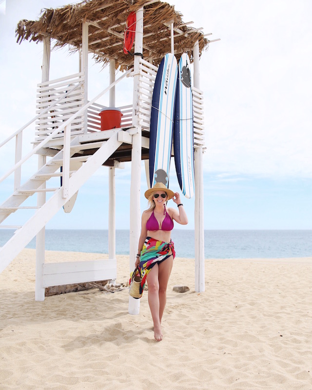 Beach at Pueblo Bonito Pacifica in Cabo | Nikki Prendergast of My Style Diaries