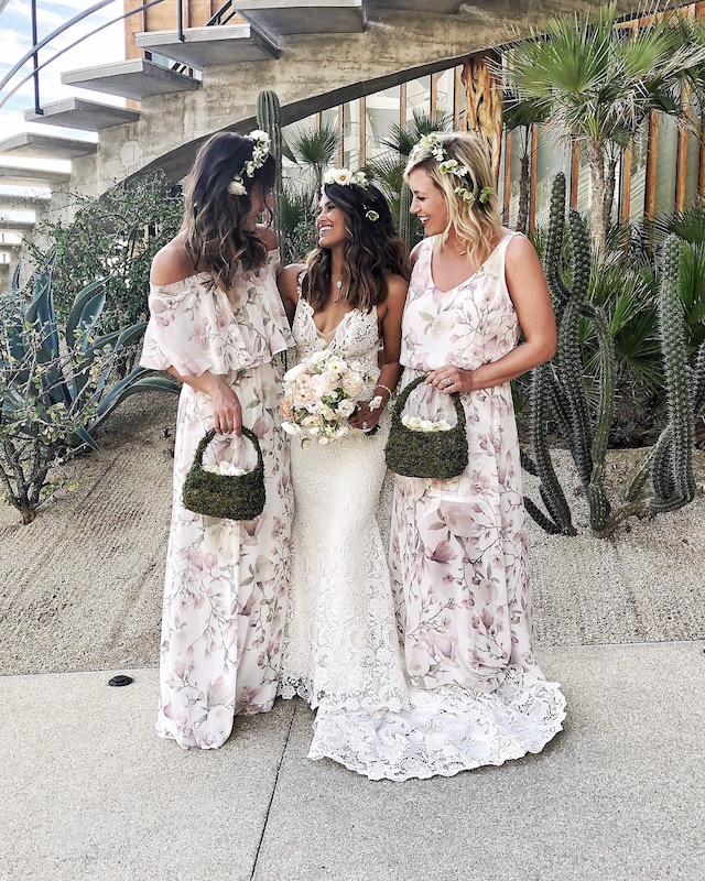 Haute Off the Rack's wedding at The Cape Hotel in Cabo