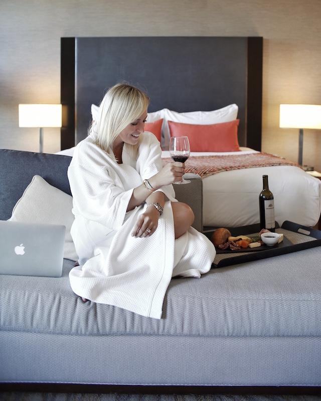 My Style Diaries blogger Nikki Prendergast at Hyatt Regency La Jolla