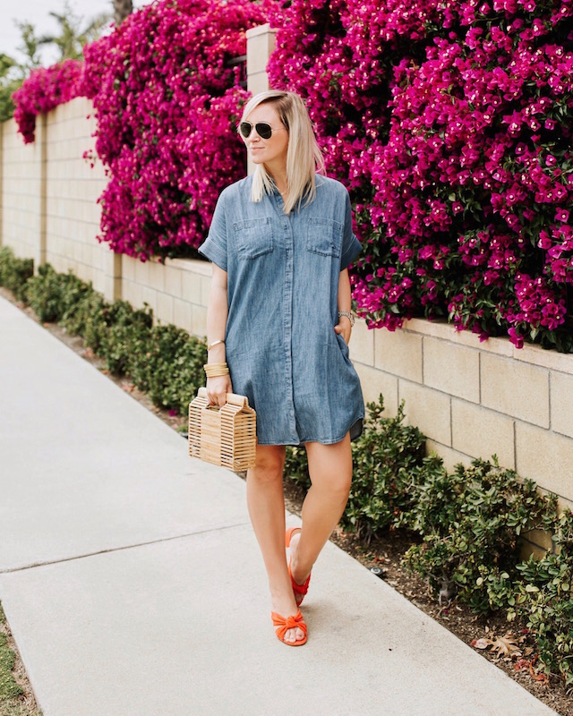 Madewell chambray dress | My Style Diaries blogger Nikki Prendergast