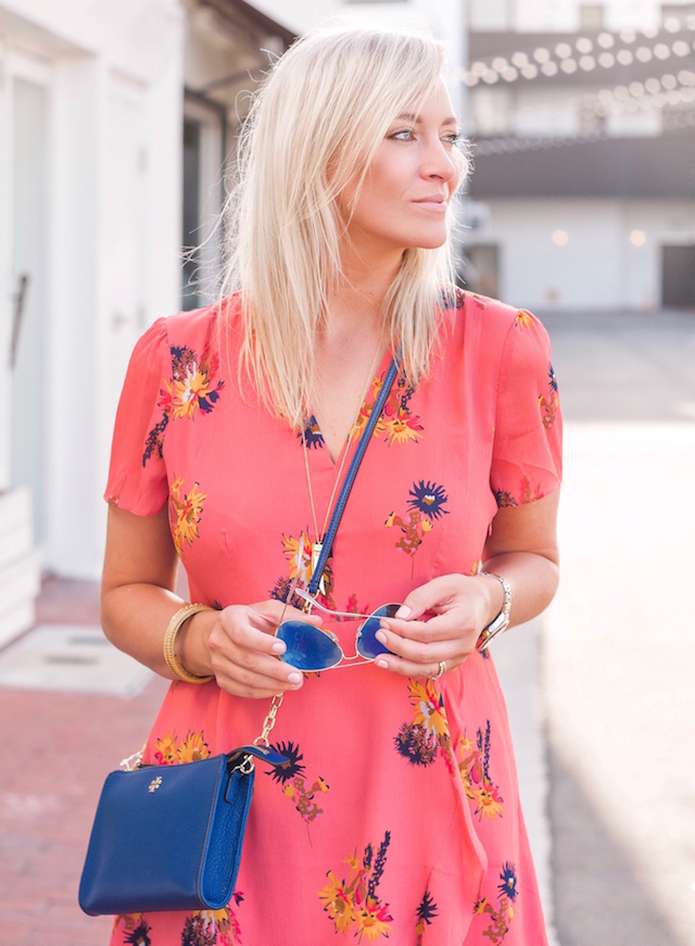 Under $100 summer dress and Tory Burch on sale in Nordstrom Anniversary Sale   My Style Diaries blogger Nikki Prendergast