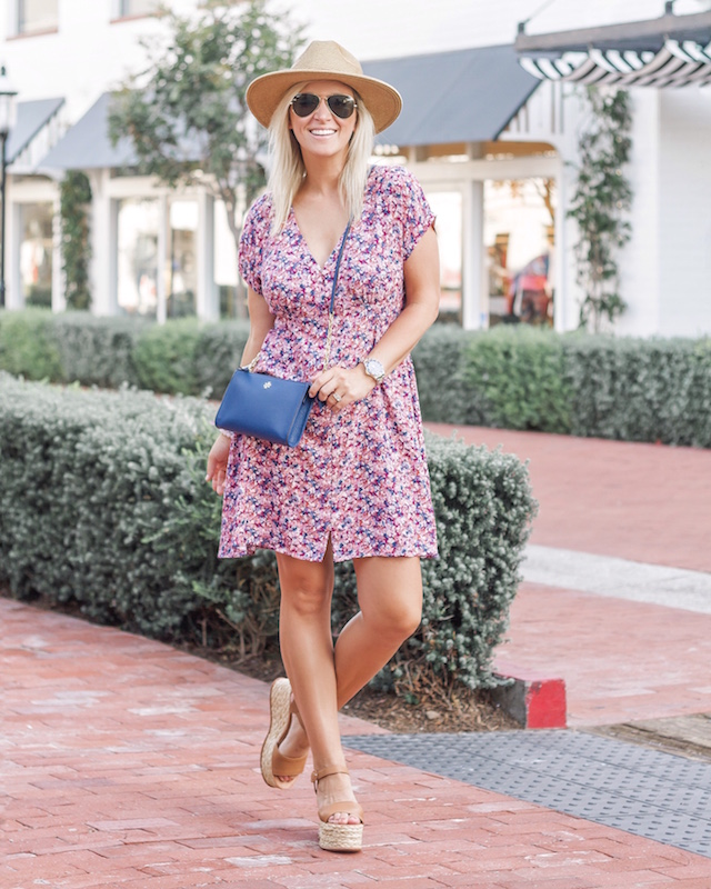 Under $40 summer dress and Tory Burch on sale in Nordstrom Anniversary Sale | My Style Diaries blogger Nikki Prendergast