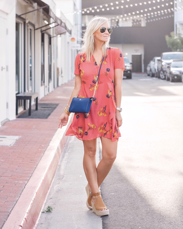 Under $100 summer dress and Tory Burch on sale in Nordstrom Anniversary Sale | My Style Diaries blogger Nikki Prendergast