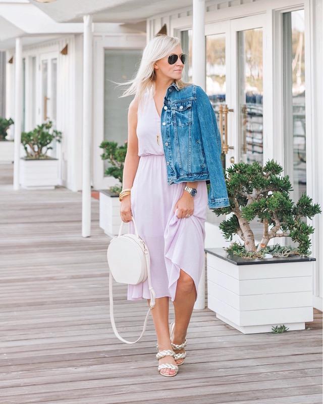 Under $50 summer dress in Nordstrom Anniversary Sale   My Style Diaries blogger Nikki Prendergast