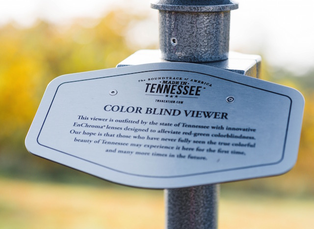 Tennessee Tourism Colorblind-less Viewers