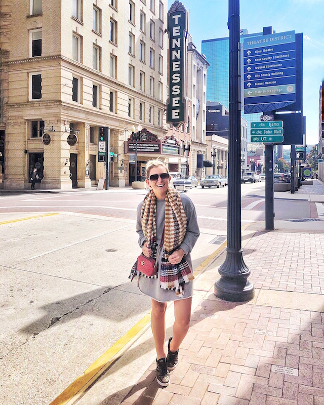 The Theater District in Knoxville, Tennessee   My Style Diaries blogger Nikki Prendergast