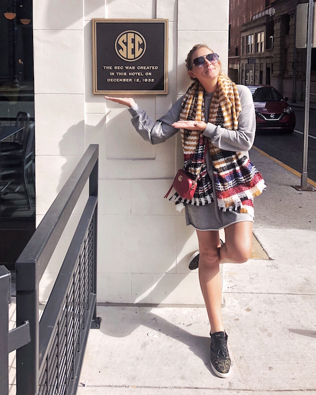 Birthplace of the SEC in Knoxville, Tennessee   My Style Diaries blogger Nikki Prendergast