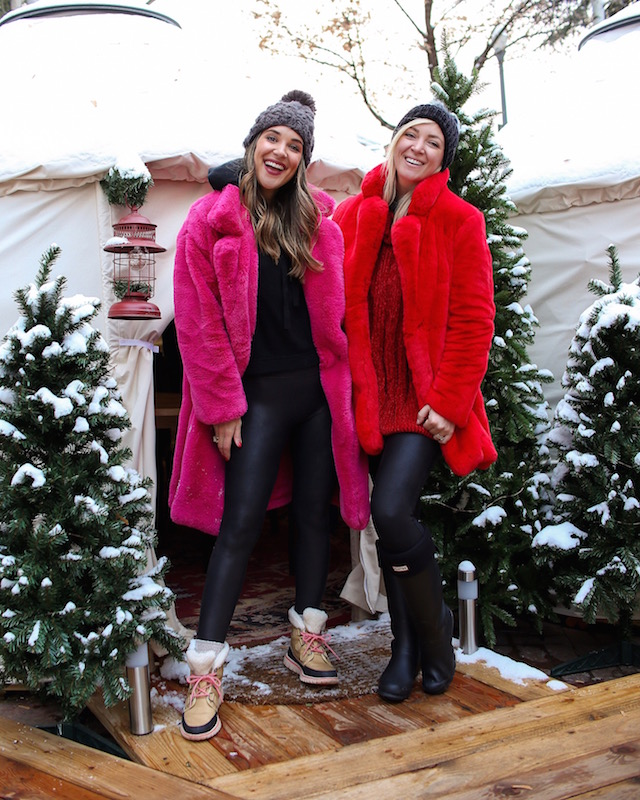 Yurt Village at the St. Regis Aspen Resort | My Style Diaries blogger Nikki Prendergast