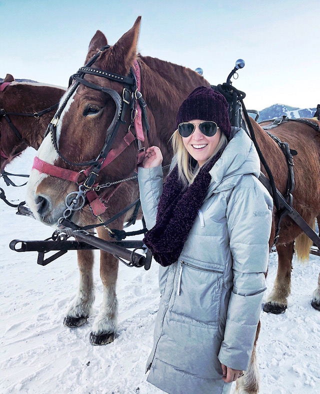 National Elk Reserve in Jackson Hole, Wyoming | My Style Diaries blogger Nikki Prendergast